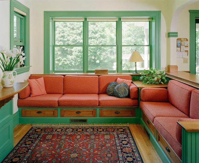 Traditional Family Room by Lockwood Construction Company Inc