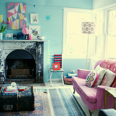 Eclectic Family Room by Sweet William
