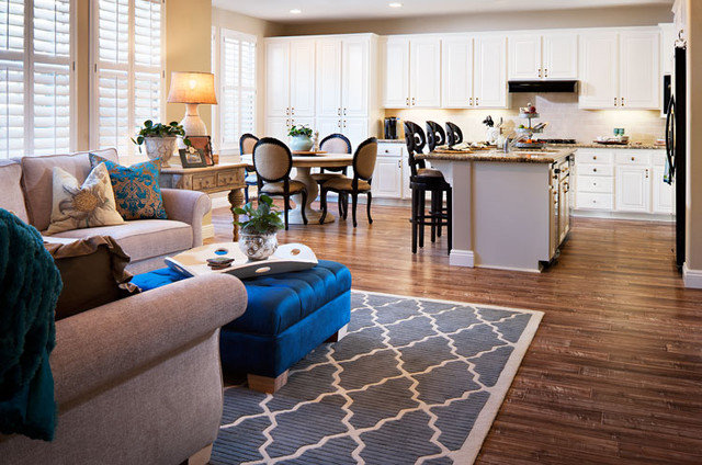 Eclectic Family Room by Style On a Shoestring