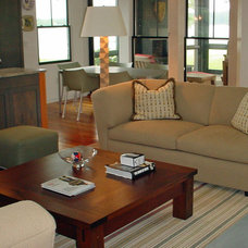 Contemporary Family Room by Decor by Denise