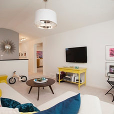 Contemporary Family Room by Sabal Homes
