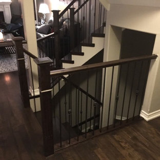 New Staircase & Refinished Floors