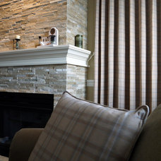 Traditional Family Room by Christine Austin Design
