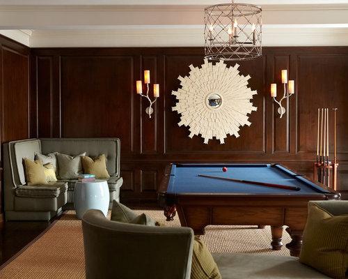 dark wood paneling houzz. Black Bedroom Furniture Sets. Home Design Ideas