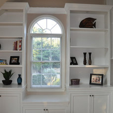 Traditional Family Room by Greene Construction