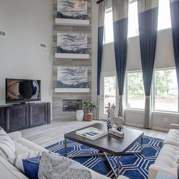 Newmark Homes - Family Room