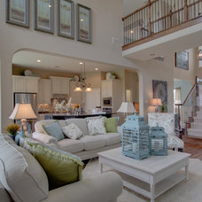Traditional Family Room by Newmark Homes