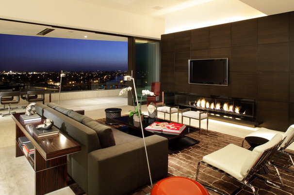 Contemporary Family Room by Magni Design