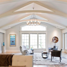 Contemporary Family Room by Sage Builders LLC
