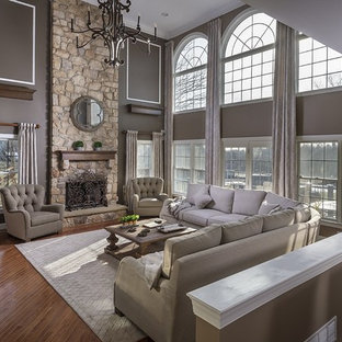 Newtown, PA: Charming Two Story Living Room