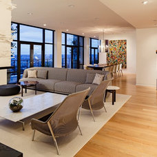 Modern Family Room by Maven Interiors
