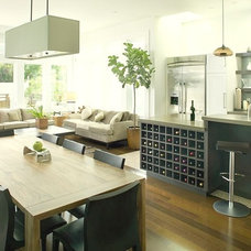 Contemporary Family Room by EAG Studio