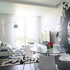 Modern Family Room by Causa Design Group