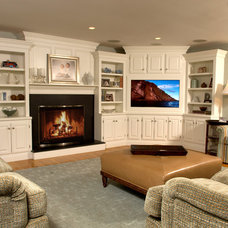 Traditional Family Room by Blackdog Design Build Remodel