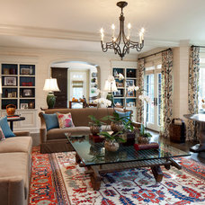 Traditional Family Room by Anthony Michael Interior Design, Ltd.