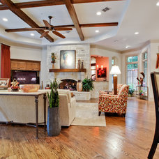 Traditional Family Room by Rosewood Custom Builders