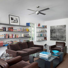 Contemporary Family Room by Blutter Shiff Design Associates