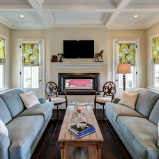 Traditional Family Room by The Ramage Company