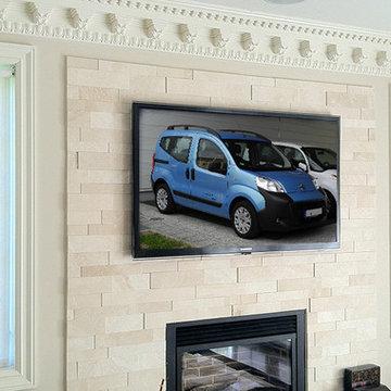 NYC Fireplace TV Installation