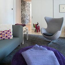 Contemporary Family Room by Rinaldi Interior Design