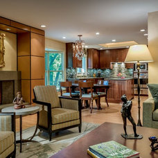 Traditional Family Room by Kaufman Segal Design
