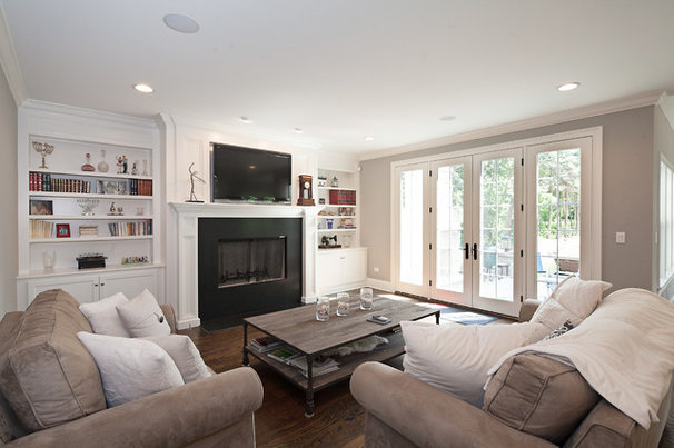 Contemporary Family Room by Oakley Home Builders