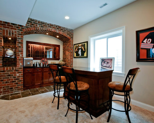 Brick Wall Bar Ideas, Pictures, Remodel and Decor