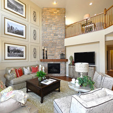 Traditional Family Room by Village Homes