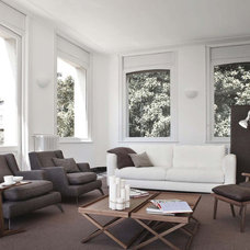 Contemporary Family Room by usona