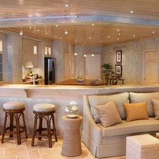 Contemporary Family Room by European Flair Interiors