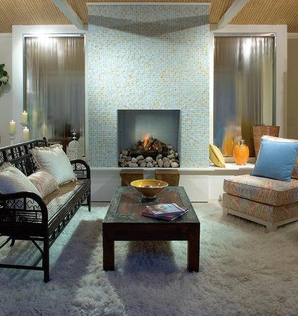 Contemporary Family Room by Oceanside Glasstile