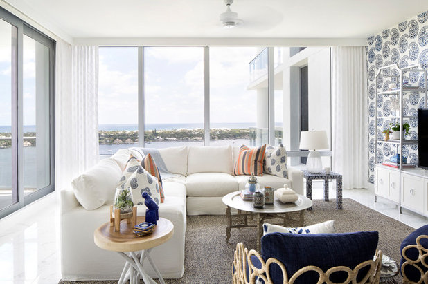 Houzz Tour Breezy And Bold Condo In North Palm Beach