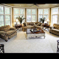 Traditional Family Room by Barenz Builders