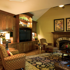 Traditional Family Room by Kitchens for Cooks/ Residential Design Services