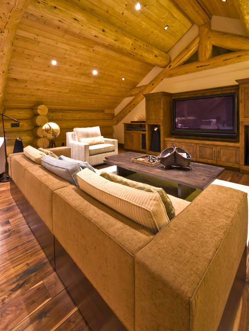 Cabin Living Rooms | Houzz