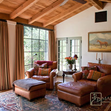 Mediterranean Family Room by Maraya Interior Design