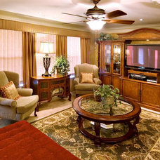 Traditional Family Room by Design Concepts by Vendetta