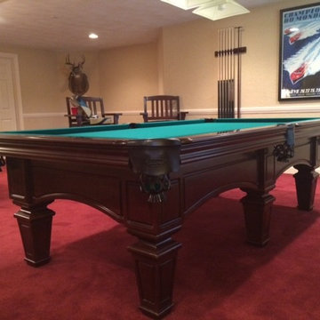 Olhausen Billiards Pool Table Installs