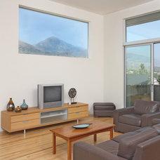 Modern Family Room by HartmanBaldwin Design/Build