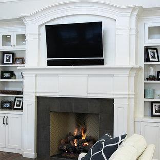 Family room - craftsman family room idea in Salt Lake City