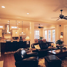 Traditional Family Room by Artistic Design and Construction, Inc