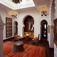 Mediterranean Family Room orientalism