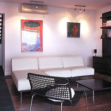 Contemporary Family Room by Original Vision Limited