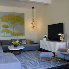 Contemporary Family Room by hetherwick hutcheson design