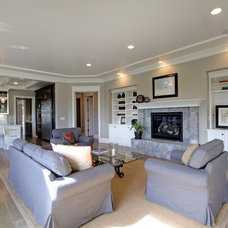 Traditional Family Room by Sterling Interiors