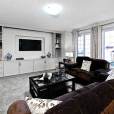 Contemporary Family Room by Shane Homes Ltd.