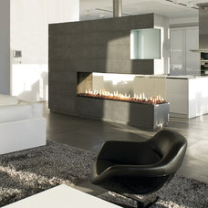 Modern Family Room by Ortal USA