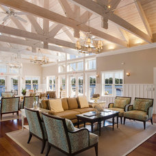 Traditional Family Room by Dasher Hurst Architects PA