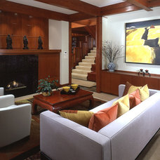 Modern Family Room by Gelotte Hommas Architecture