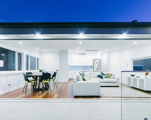 Superb Mid Sized Modern Family Room In Sydney. Part 22